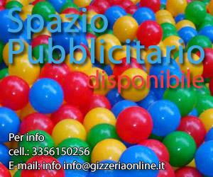Per la tua pubblicità su GizzeriaOnLine.it contattaci