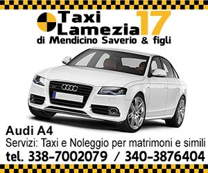 Taxi Lamezia Terme n° 17 - cell 338-7002079 - 340-3876404