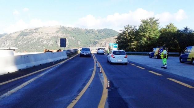 A3, circolazione limitata: lavori in corso sul tratto tra Laino Borgo e Mormanno
